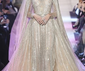 elie saab, wedding, and long dresses image