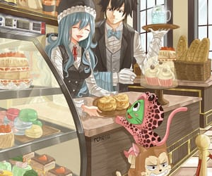 gruvia, gray, and fairy tail image