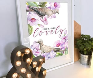 etsy, isn't she lovely, and quote art image