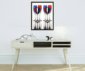 etsy, gift for man, and red white blue image