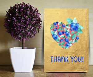 etsy, thank you printable, and thank you card image