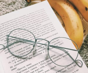 book, cozy, and glasses image