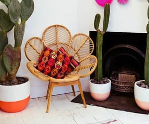 chair, retro, and wood image