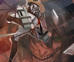 titan, attack on titan, and micasa image
