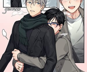 Boys Love, yuri on ice, and yaoi image