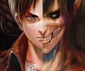 attack on titan, shingeki no kyojin, and anime image