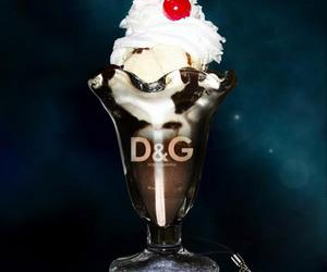 chocolate, coffe, and D&G image