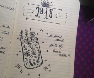 agenda, draw, and girl image