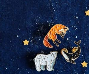 animal, astrology, and badge image