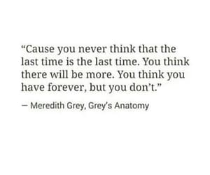 quotes, sad, and grey's anatomy image
