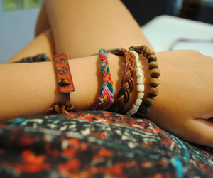 bracelet, girl, and photography image