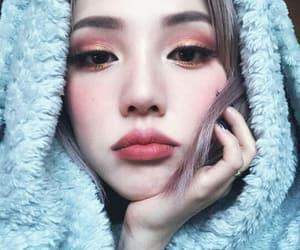 makeup, korean, and pony image