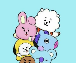 bts, bt21, and rj image