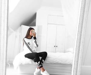 adidas, white, and goals image