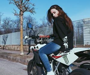 bike, biker, and life image