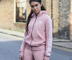 adidas, clothes, and hoodie image