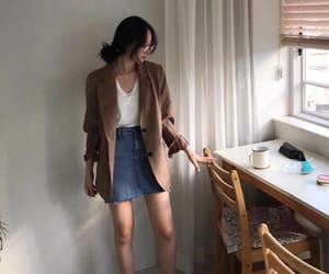 kfashion, ulzzang, and ootd image