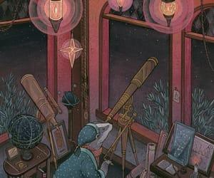 animal, art, and astronomy image