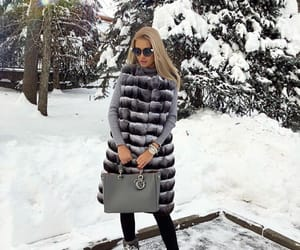 classy, winter, and fur image