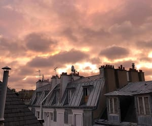 sky, beautiful, and paris image