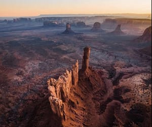 desert, monument valley, and utah image