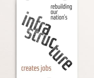 graphic design, infrastructure, and poster image