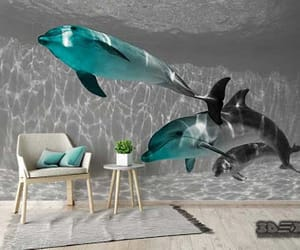 3d, 3d wallpaper, and living rooms image