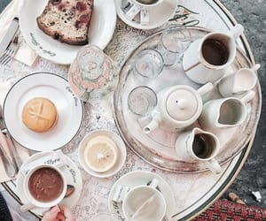 cafe, food, and paris image