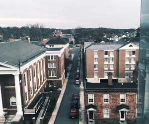 downtown, charlottesville, and virginia image