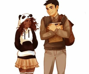 frank zhang, percy jackson, and hazel levesque image