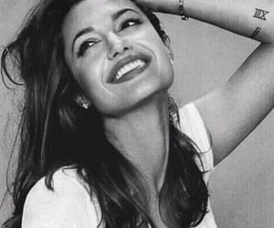 Angelina Jolie, smile, and beauty image