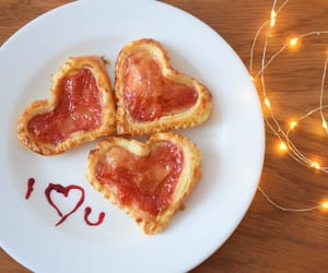 food, tumblr, and valentines day image