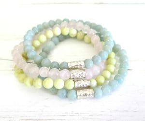 amazonite, jasper, and jewelry image