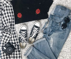 90s, converse, and denim image