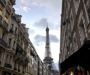 architecture, charm, and eiffel image