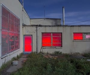 red, indie, and light image