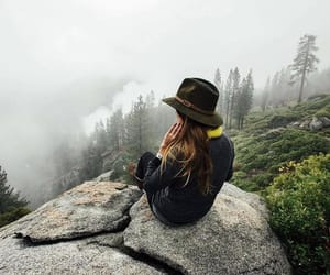 adventure, fashion, and green image