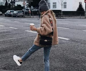 beautiful, fashion, and coffee image
