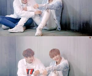 Seventeen, DK, and jeonghan image