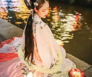 beautiful, girl, and china image