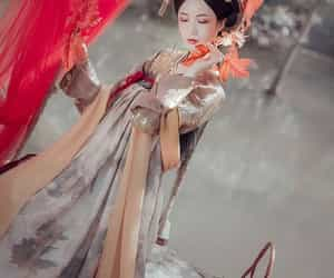 art, chinese art, and chinese girl image