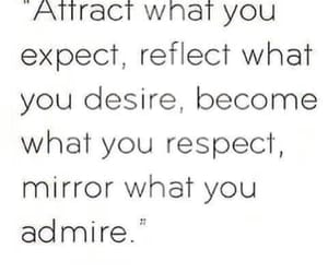 admire, mirror, and quote image