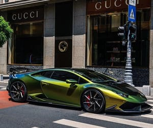 car, gucci, and Lamborghini image