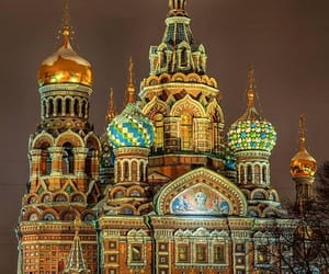 cathedral, russia, and church image