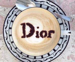 coffee, dior, and luxury image