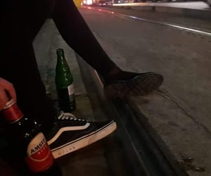 beer, chilling, and grunge image
