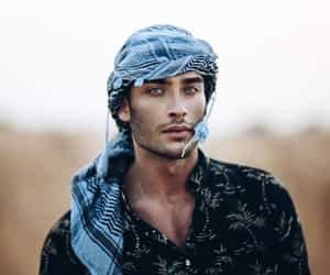boy, desert, and handsome image
