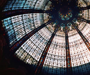 architecture, glass, and vintage image