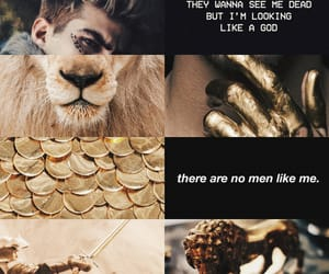 aesthetic, gold, and king image