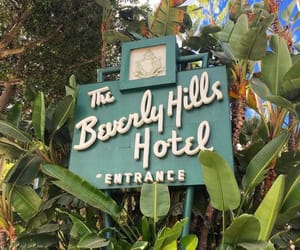 Beverly Hills, beverly hills hotel, and california image